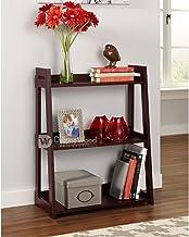 Driftingwood Bookcase 3 Tier Ladder Shelf for Living Room | Brown