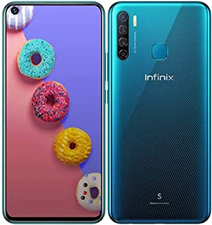 انفنيكس X652A S5 بشريحتي اتصال - 128 جيجا، 6 جيجا رام، الجيل الرابع ال تي اي، ازرق