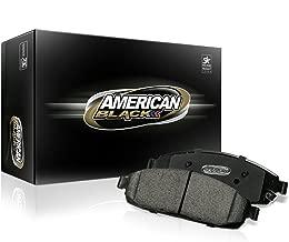 American Black ABD1815C Professional Ceramic Front Disc Brake Pad Set Compatible With Hyundai Santa Fe 4 Cylinder 2017 / Kia Sorento 2015-2016 - OE Premium Quality - Perfect fit, QUIET and DUST FREE