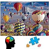 Rompecabezas Puzzle 1000 Piezas Puzzle Paisaje de Globos Puzzle Educa Inteligencia Jigsaw Puzzles para Adultos Creativos Juguetes Educativos, Niños y Amigos Juego Decoración para Familias
