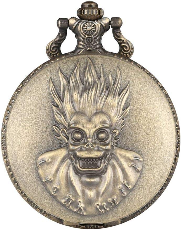 GANFANREN Dedication Retro Creative Monkey King Pocket Big Quartz Watc Eyes trust