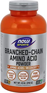 NOW Sports Nutrition, Branched Chain Amino Acid Powder, 12-Ounce