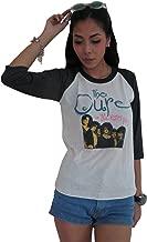 Bunny Brand Women's The Cure The Kissing Tour 1987 Raglan T-Shirt White