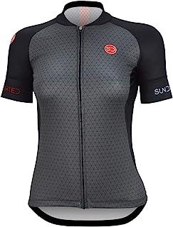 comprar comparacion Sundried Jersey Ciclo para Mujer de Manga Corta Ciclismo de Carretera y de montaña Bici Jersey