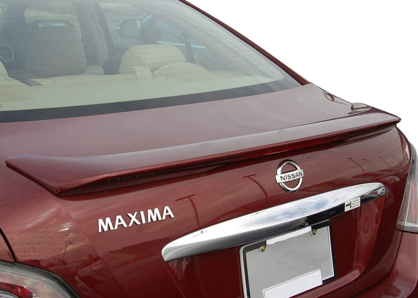 Painted Factory Style Spoiler made for the Be super welcome Bargain Nissan Maxima
