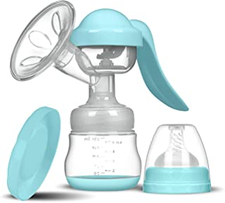 Breast Pump Manual Breast Pump Silicone Breast Pump Baby Milk Breastfeeding Accessories BPA Free Sucking Postpartum Suppli...