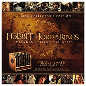 Middle Earth: 6 Film Limited Collector\'s Edition (Blu-ray + DVD)