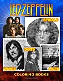 Led Zeppelin Dots Lines Spirals Waves Coloring Book: Inspirational Gift For Adult To Expand Creativity, Practicing Mindfulness, Relieving Stress, ... With The Well-Known Rock Band Led Zeppelin