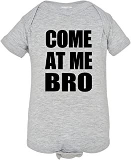 Baby Creeper Come at Me Bro Commercial Novelty HQ 1-Piece Jumper
