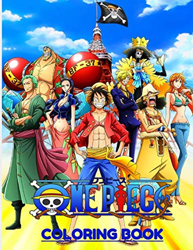 One piece coloring book: For kids and adults 51 pages size (8,5x11) High quality coloring images