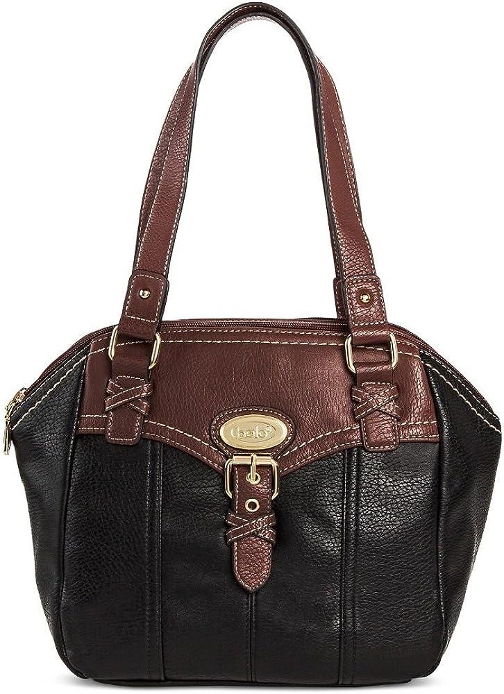 Bolo Women's Faux Leather Satchel Com San Francisco Mall Back with 25% OFF Interior Handbag
