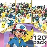 JIM - 120 pcs pokémon Figuras,Figura de Pokemon Adecuado para...