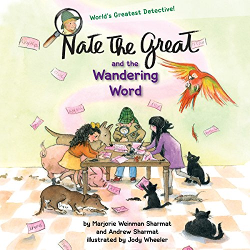 Nate the Great and the Wandering Word Titelbild