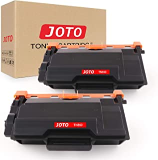 JOTO Compatible Toner Cartridge Replacement for Brother TN850 TN-850 TN 850 TN820 HLL6200DW HLL6200DWT HL-L5100DN HL-L5200DW MFCL5900DW HLL6200DWT HLL6250DW (Black, 2 Pack, High Yield)