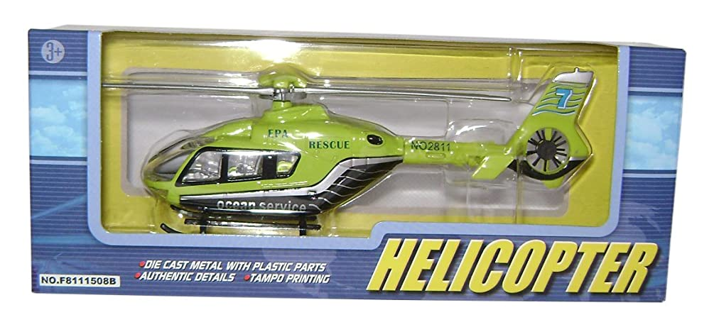 Richmond Toys 111039 Rescue Helicopter, Authentic Details, Rotating Blades
