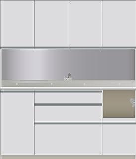パモウナ 食器棚 幅160×高さ187×奥行45 日本製 DIR-S1600R