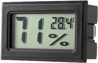 Ndier Mini LCD Termómetro Higrómetro Humedad Temperatura Metro Interior Productos de Hogar