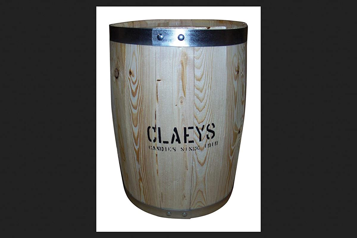 Claey S Empty Wooden Barrel 18 In H X 14 In Dia