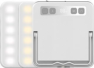Superway LEDランタン 充電式 昼白色 昼光色 電球色 赤色点灯 SOS 光色/輝度記憶 数字型電気量 輝度表示 三脚接続可能 13400mAh 100調光モード アウトドア 防災 強力磁石内蔵 【1200ルーメン/連続点灯1500時...