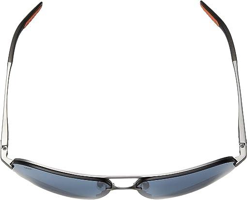 Matte Silver/Translucent Grey/Orange/Gray Silver Mirror 580P