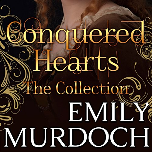 Conquered Hearts audiobook cover art