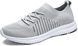 QIUYIXI Men's Slip On Walking Shoes Lightweight Causual Running Sneakers