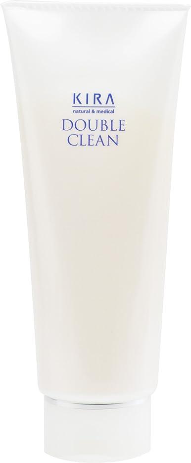 小切手インストールレタス綺羅化粧品 ダブルクリーン 160g (洗顔料)