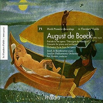 In Flanders' Fields Vol. 71: Music of August De Boeck