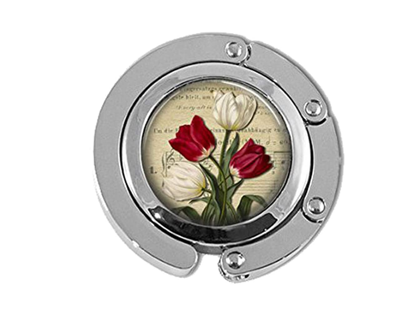 Beautiful Dandelion Red and White Tulips Spring Garden Flowers Bag Holder Umbrella Hanger
