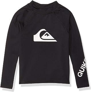Quiksilver Boys' Little Time Long Sleeve Rashguard Surf Shirt