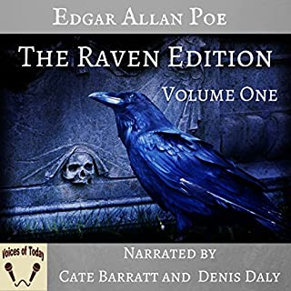 The Works of Edgar Allan Poe, The Raven Edition: Volume One cover art