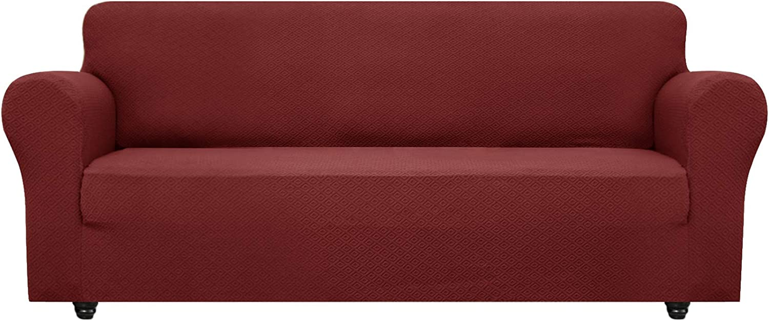 OBYTEX Stretch Sofa Cover unisex Jacquard Covers Couch Cat Spandex Dog Max 50% OFF