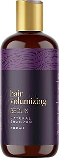 Redux Hair Volumizing Natural Shampoo - 10.fl.oz - Biotin & Keratin Complex with Vitamins B+E - Thickening Shampoo for Thi...