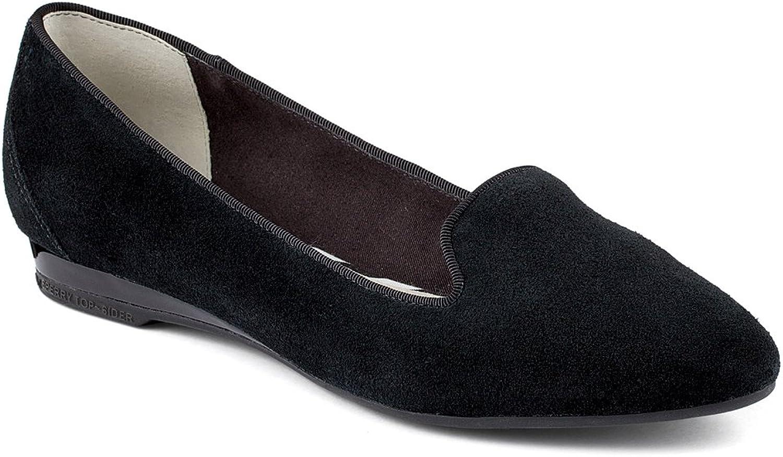 Sperry Women's Miramar Black Suede 7 M US