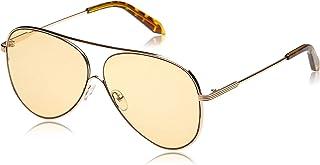 TFL Aviator Sunglasses for Women - Yellow Lens, 16495-Yellow