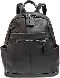 Schwarze weiche Leder-Handtaschen Multifunktionstasche Reise Lebensmittel Leichte Damen Schultertaschen
