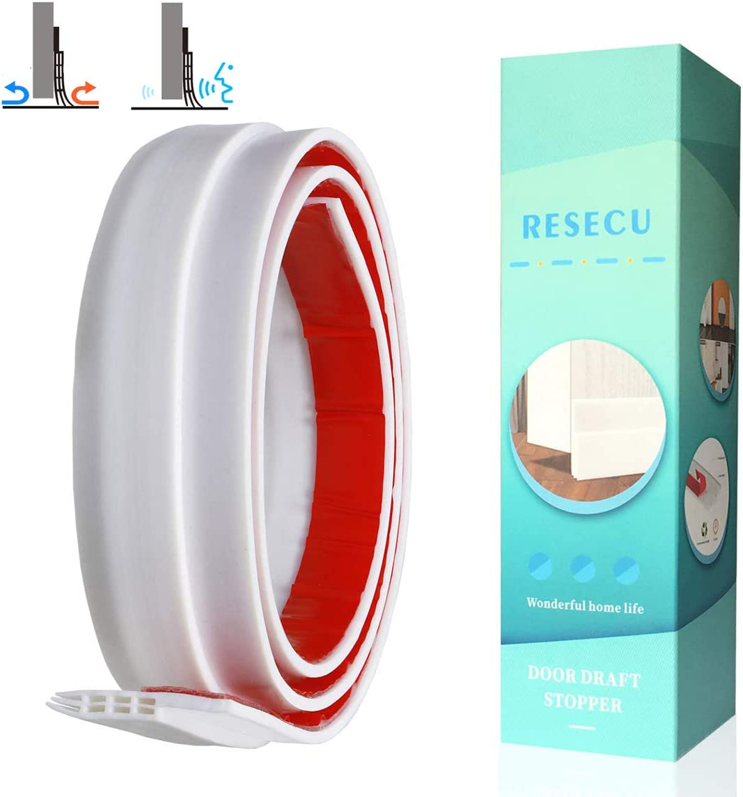 RESECU Upgraded Door Draft Sale Atlanta Mall Stopper Inter Sweep for Exterior