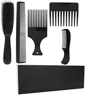 【2021 New Year's Special】5pcs Anti-Static Hair Styling Tool, Comb Set, for Straight Hair Hair Combing Hair Styling Distrib...