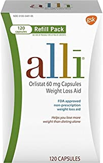Alli Weight Loss Aid Refill 60mg-120 Capsules by alli