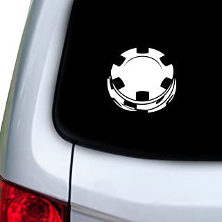 poker chip decals