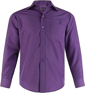 Amazon.es: Morado - Camisas / Camisetas, polos y camisas: Ropa