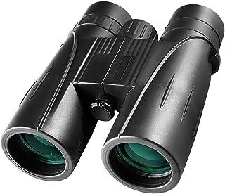 LFDHSF Telescopio binoculares Alta definición visión Nocturna con Poca luz 8x42 cámara de teléfono portátil de Acceso al Aire Libre binoculares de Viaje Gran Angular Negro 130 * 55 * 158 mm