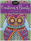 Cra-Z-Art Timeless Creations Adult Coloring Books: Creatures of Beauty Creative Coloring Book (16278-6)