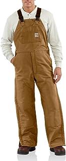 Carhartt Men's Flame Resistant Duck Bib Lined Overall