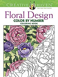 Floral Design Color By Number