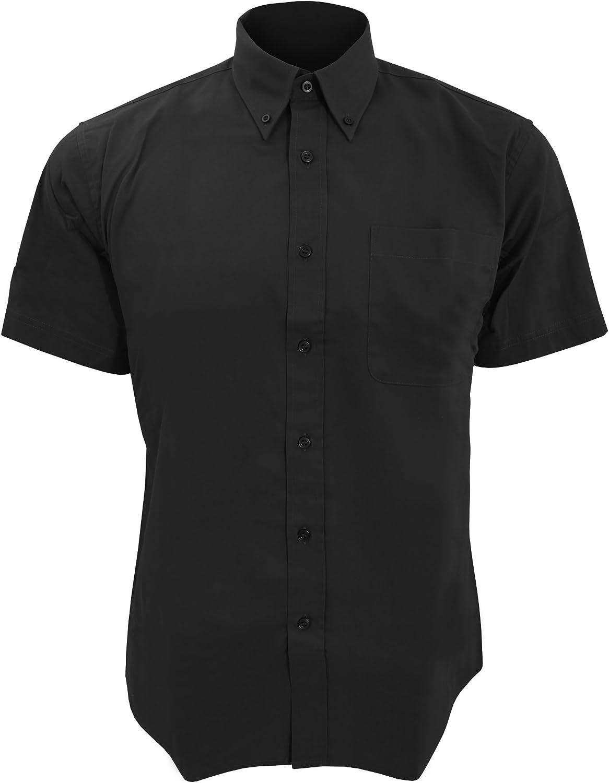 SOLS - Camisa Twill para Trabajar de Manga Corta para Trabajar Modelo Brooklyn Hombre Caballero - Trabajo/Fiesta/Verano