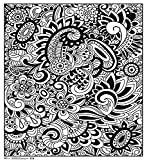 Trends International Modern Floral 18'x 24' Coloring Poster