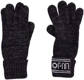 Luxury Fashion | Liu Jo Womens 369008M030022222 Black Gloves | Fall Winter 19