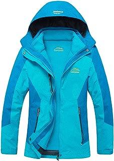 Womens Outdoor 3 in 1 Detachable Warm Inside Multifunction Jacket