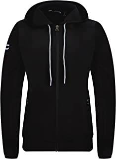 SAVALINO Women's Hooded Track Jacket With YKK Zippers